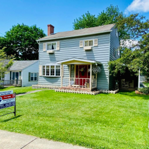 NEW LISTING ON THE NORTH SIDE OF HISTORIC BROOKVILLE FOR $154,900! Features beautiful Trim work, a large Family room, enclosed Sunporch overlooking a large Deck, Central air, ample storage in Basement & Attic spaces with potential to finish both, update photo