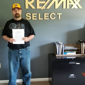 SOLD IN TREASURE LAKE! Congratulations Jason Wolford on the purchase of property in Treasure Lake for your future log home from REMAX Realtor, Cristina Fischer and ReMax Select Group , DuBois Pennsylvania! Best wishes for years to come! #remaxhustle photo