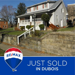 Congratulations to the Beveridges on the sale of your home from REMAX Realtor, Cristina Fischer and ReMax Select Group! We wish you all the best in your future endeavors! #remaxhustle #duboispa photo